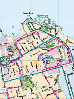 YRT System Map